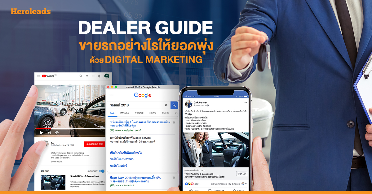 Digital Marketing, Car Dealer
