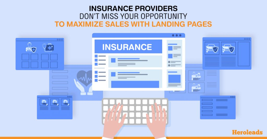 landing page, insurance