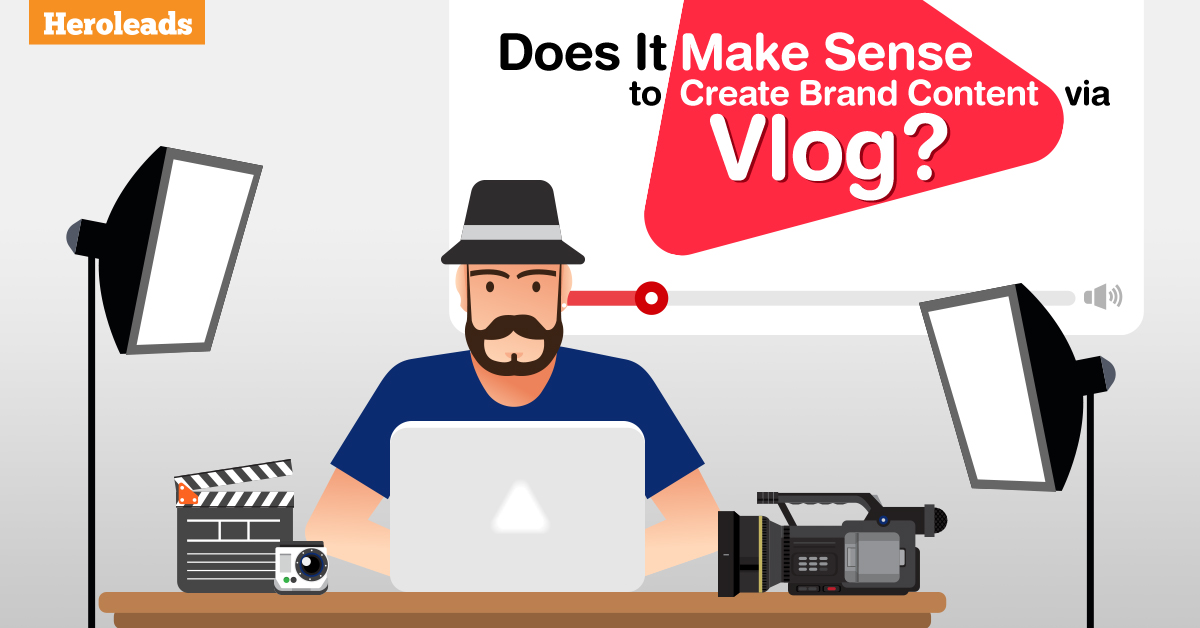 vlog, brand content, video marketing