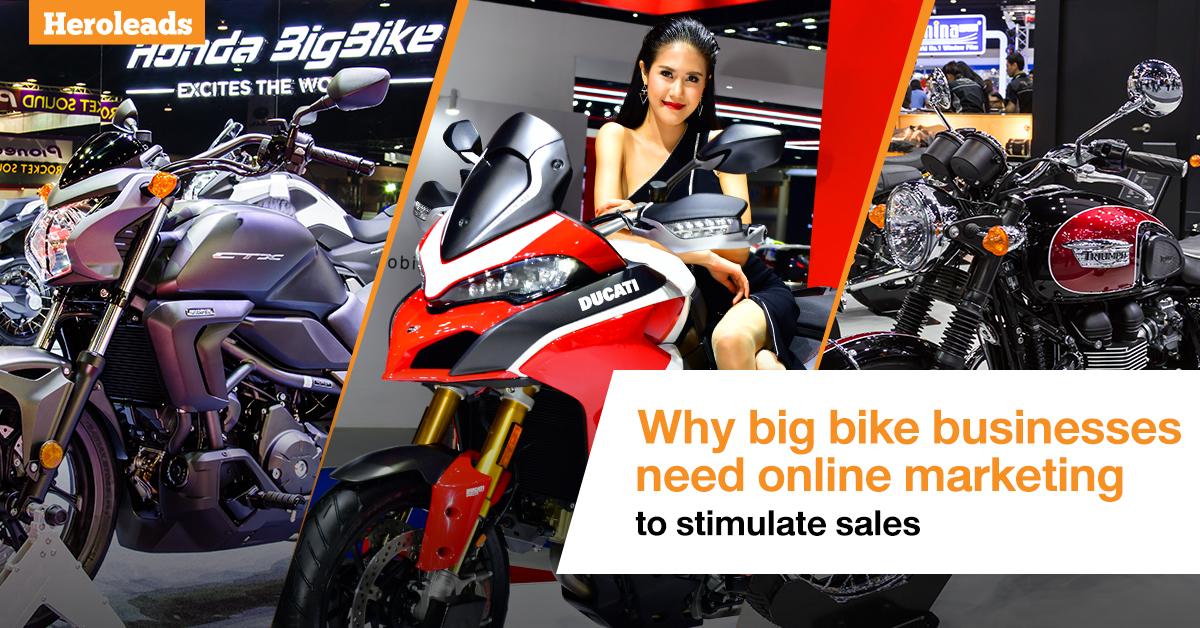 big bike, online marketing