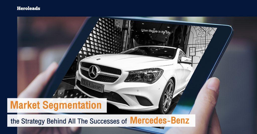 Market Segmentation, Mercedes-Benz, online