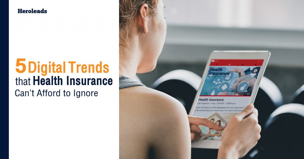 health insurance, digital marketing,Trend